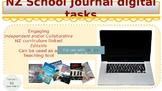 NZ School Journal Digital tasks with Google Slides