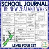 New Zealand Wars School Journal Set: Level 4 Follow-Up Activities
