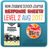 NZ School Journal Responses - Level 2 August 2017