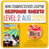 NZ School Journal Responses - Level 2 August 2020