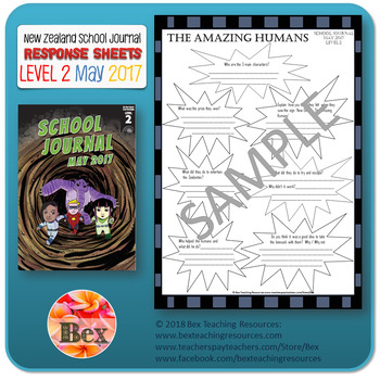 NZ School Journal Responses - Level 2 May 2017