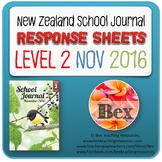 NZ School Journal Responses - Level 2 November 2016