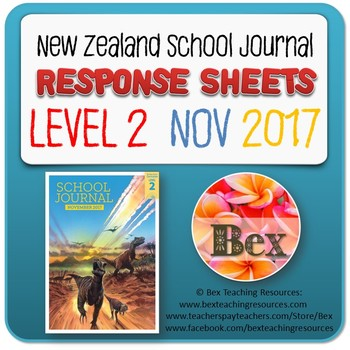 NZ School Journal Responses - Level 2 November 2017