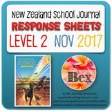 NZ School Journal Responses - Level 2 November 2017