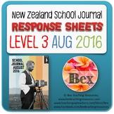 NZ School Journal Responses - Level 3 August 2016
