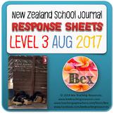 NZ School Journal Responses - Level 3 August 2017