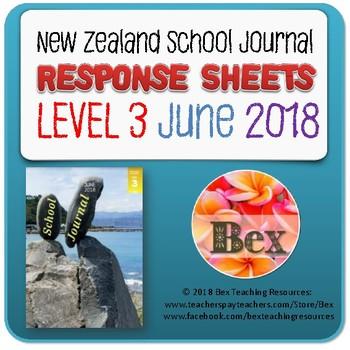NZ School Journal Responses - Level 3 June 2018