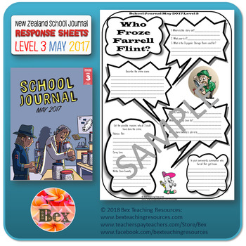 NZ School Journal Responses - Level 3 May 2017