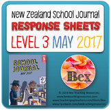NZ School Journal Responses - Level 3 May 2017