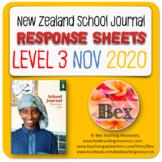 NZ School Journal Responses - Level 3 November 2020
