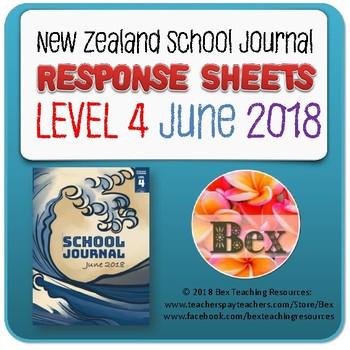 NZ School Journal Responses - Level 4 June 2018