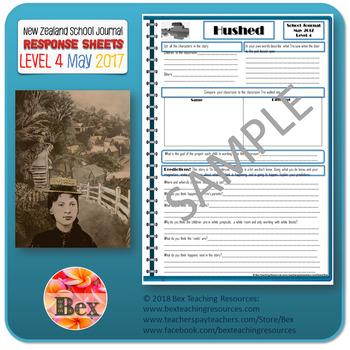 NZ School Journal Responses - Level 4 May 2017