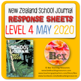 NZ School Journal Responses - Level 4 May 2020