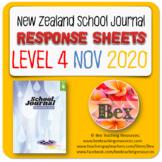 NZ School Journal Responses - Level 4 November 2020
