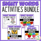New Zealand Sight Words Activities Bundle!