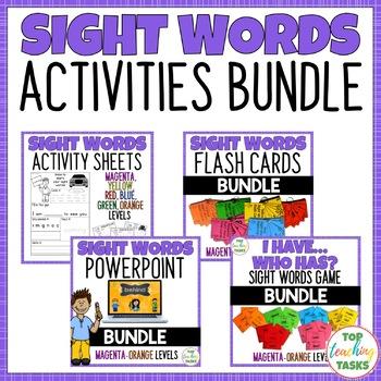 NZ Sight Words Giant Super Mega Bundle!