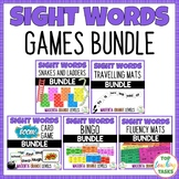 New Zealand Sight Words GAMES Bundle