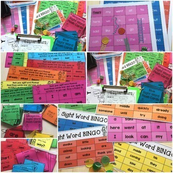 New Zealand Sight Words Total Package Bundle