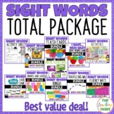 New Zealand Sight Words Total Package Bundle!