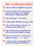 NZC - Year 5/6 Writer's Checklist