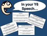 NZC - Year 6/7 Speech Checklist