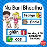 Na Baill Bheatha (Body Parts as Gaeilge)