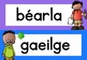 Na hÁbhair Scoile - Subject Posters as Gaeilge