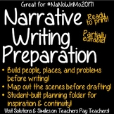 NaNoWriMo 2017-- Narrative, Novel Writing