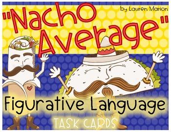 Nacho Average Figurative Language Task Cards