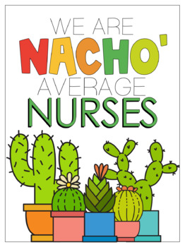 Nacho' Average Teachers- Cinco de Mayo Posters