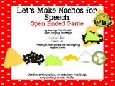 Nacho Builder Open Ended Speech Game