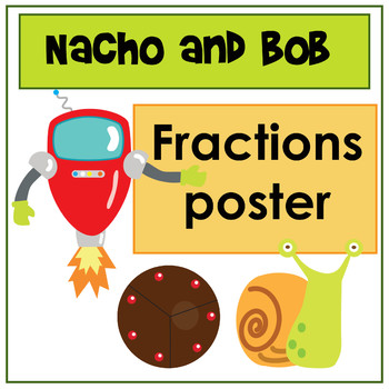 Nacho and Bob Fractions Poster