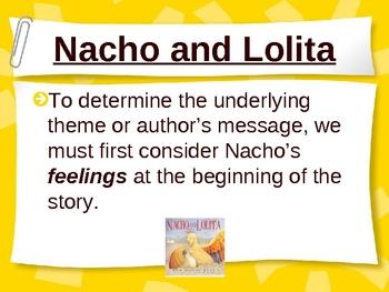 Nacho and Lolita - Theme - Treasures Reading Series