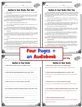 #1 Fun Reading Comprehension Passage and Questions + Hilarious Audiobook #1