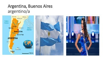 Nacionalidades de países hispano hablantes