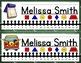 Nameplates EDITABLE - Back-to-School Decor