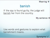 Nadia the Willful vocabulary PPT - Holt McDougal Literature Grade 6