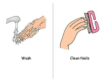 Nail Care Social Story Book