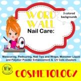 Nail Care Word Wall