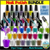 Nail Polish Clipart BUNDLE