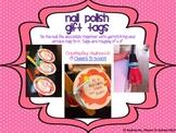 Nail Polish Gift Tags Freebie