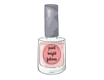 Nail Polish Paint Bright Futures Poster