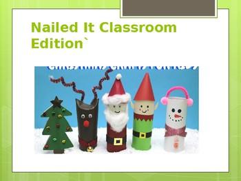 Nailed It Holiday Classroom Edition
