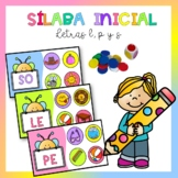 Naipes de sílaba inicial consonantes l,p y s