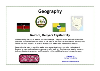 Nairobi At A Glance - Going On Safari To Kenya?  Learn About Their Capital City