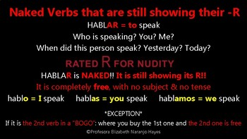 Naked Verbs Still Showing Their -R