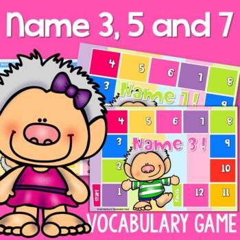 Name 3! Board Game