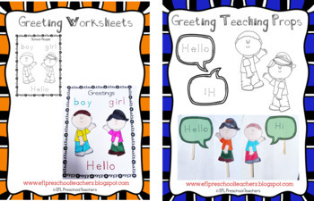 Greetings and Introductions for Elementary ELL