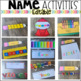 Name Activities Back to School EDITABLE
