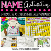 Name Activities {Editable}